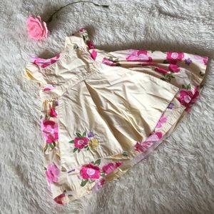 Pretty Floral Gymboree Dress size 6-12 mos